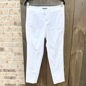 Vince Women's White Ankle Cropped Pants Size 4